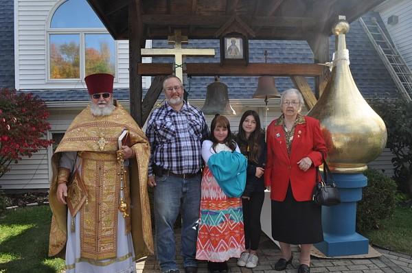 Helen Schweiser and Family